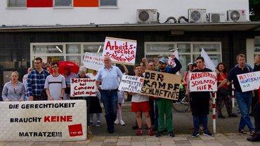 Solidarität mit dem Betriebsrat