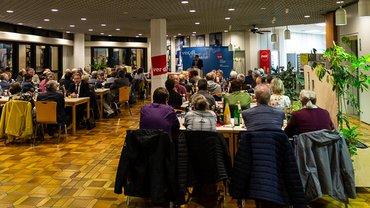Jubilarehrung des Ortsverein Göttingen am 24.10.2018