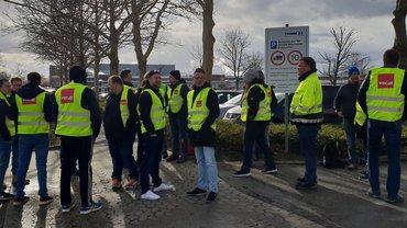 Tarifrunde: Firma Thimm in Northeim bestreikt!