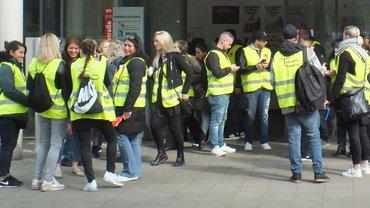PRIMARK Braunschweig: Warnstreik für mehr Lohn