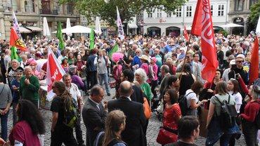 Bündnis gegen Rechts feiert einen Riesenerfolg