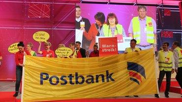 Ausweitung der Postbank-Streiks auf ganz Niedersachsen und Bremen