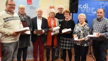 Jubilarehrung 2019 des Ortsvereins Braunschweig am 18.10.2019