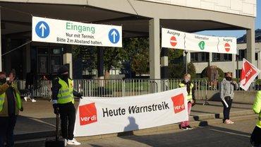 Warnstreik in Salzgitter am 29.09.2020