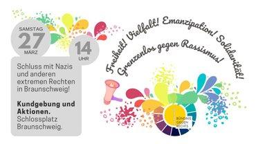 Freiheit! Vielfalt! Solidarität! Emanzipation!