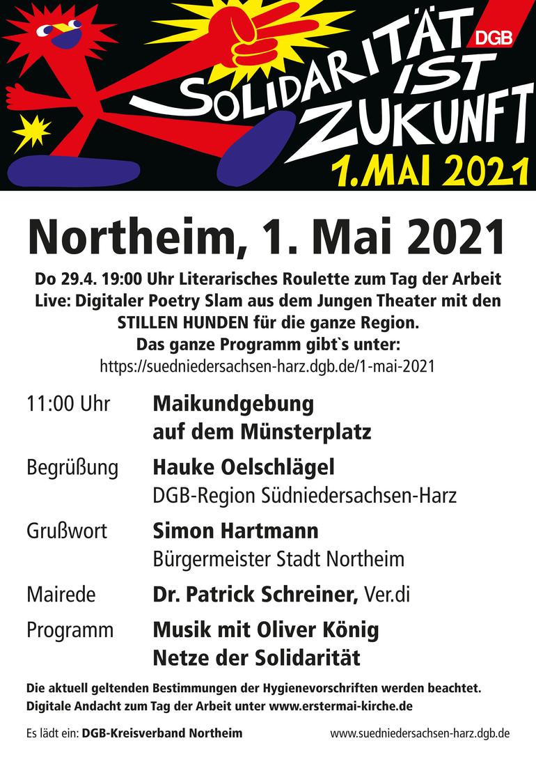 Tag der Arbeit 2021 in Northeim