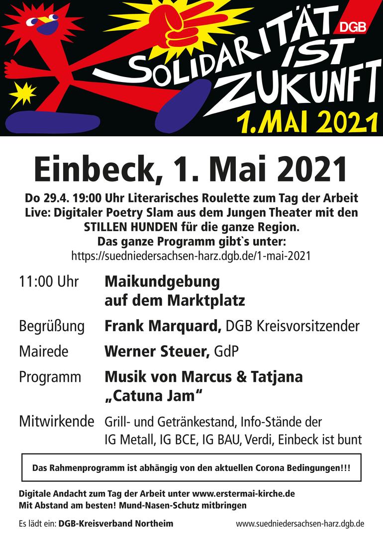 Tag der Arbeit 2021 in Einbeck