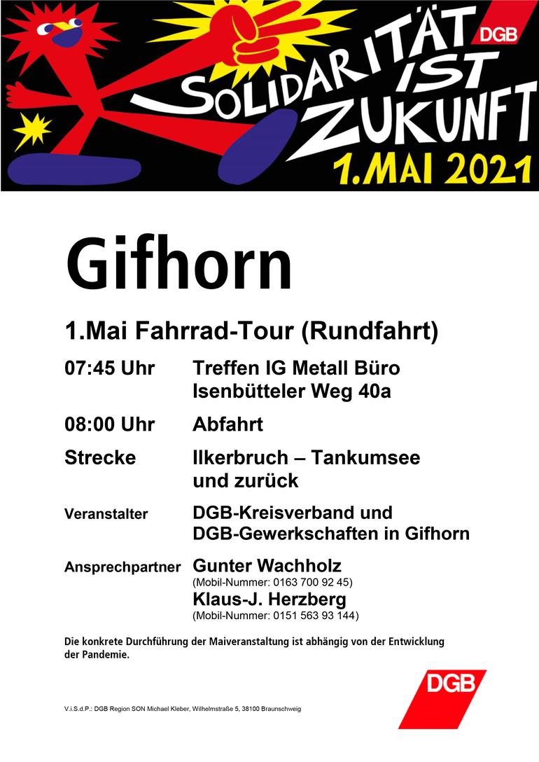 Tag der Arbeit 2021 in Gifhorn