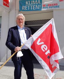 Detlef Ahting, ver.di-Landesbezirksleiter