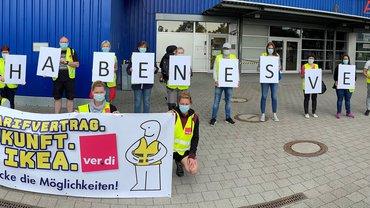 Streik im Handel, IKEA Braunschweig streikt