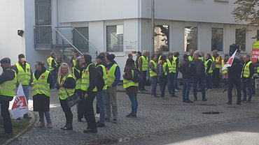 Erneut Warnstreik bei Westermann-Gruppe in Braunschweig